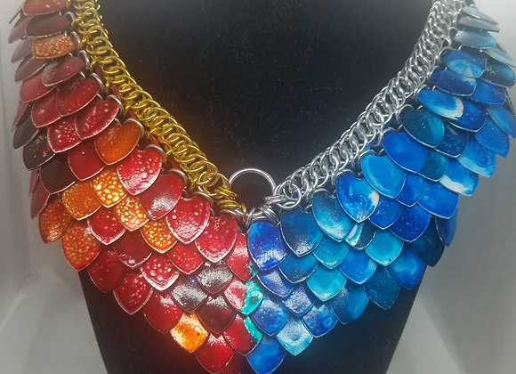 Fire and Ice Goddess Necklace