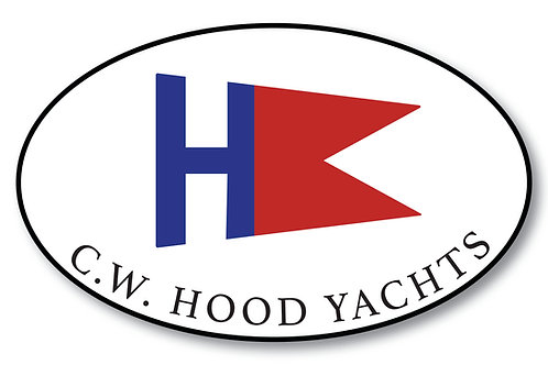 C.W. Hood Sticker