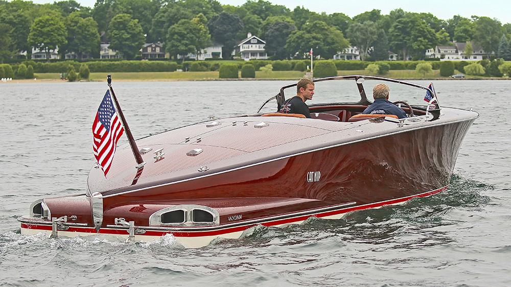 Van Dam Custom Boat Cool Cat Image