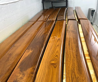 Varnished Teak