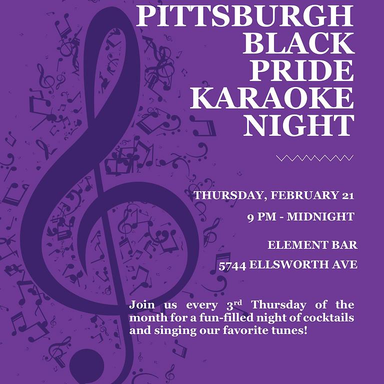 Pittsburgh Black Pride Karaoke Night