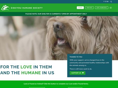 Siskiyou Humane Society