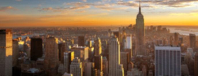 Tramonto del New York City