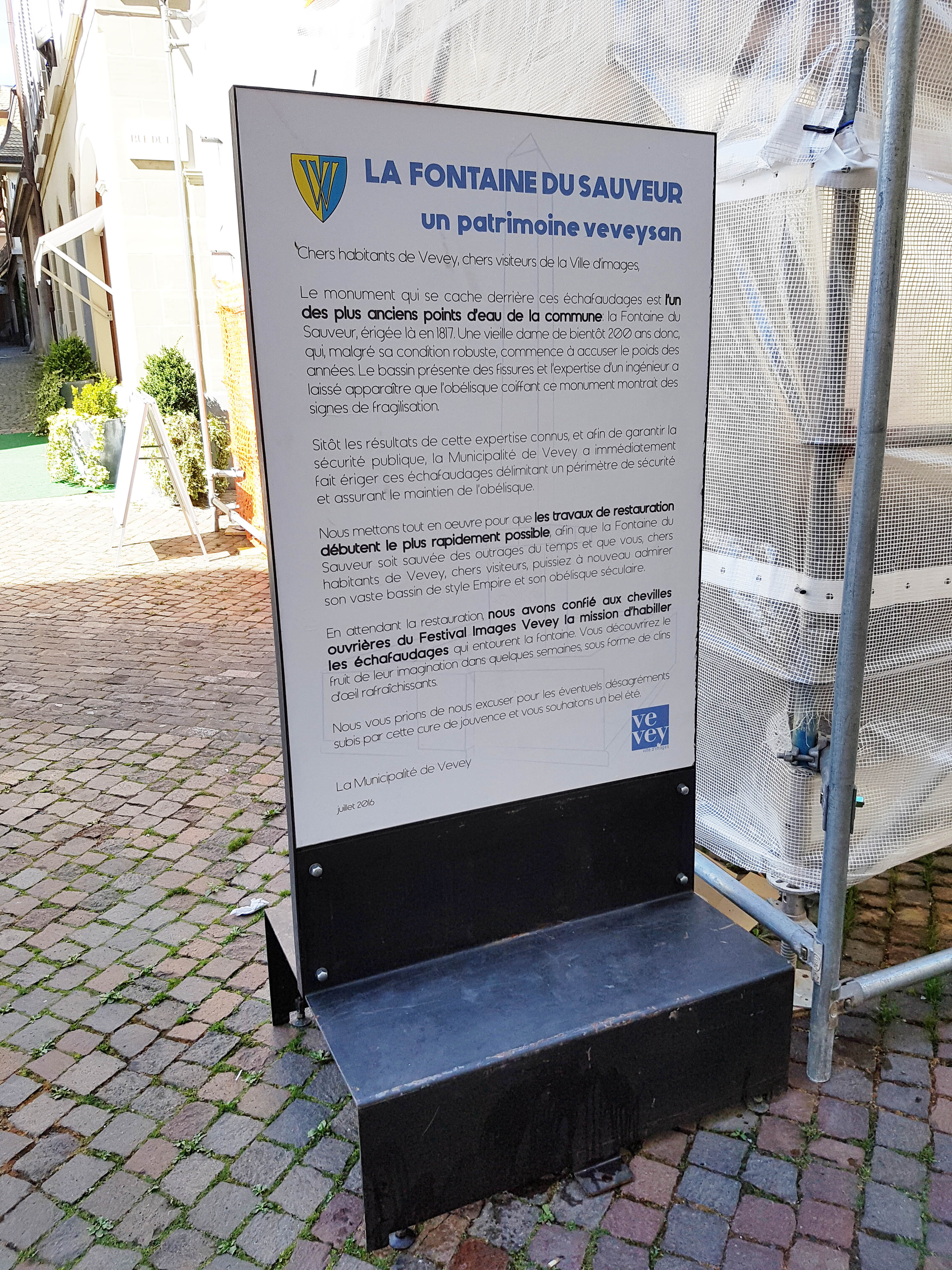 Info Travaux Vevey