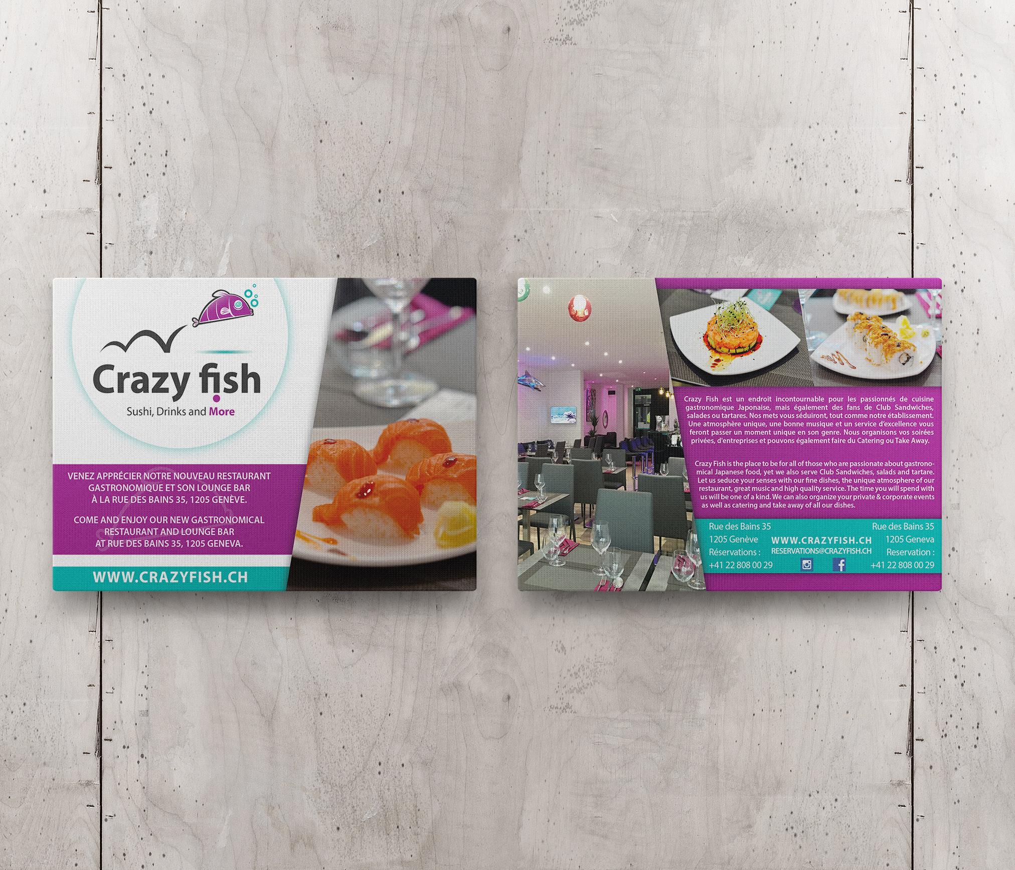 Flyer Crazy Fish