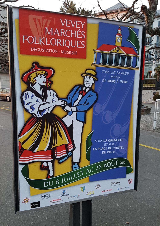 Affiche Marché Fock 2017