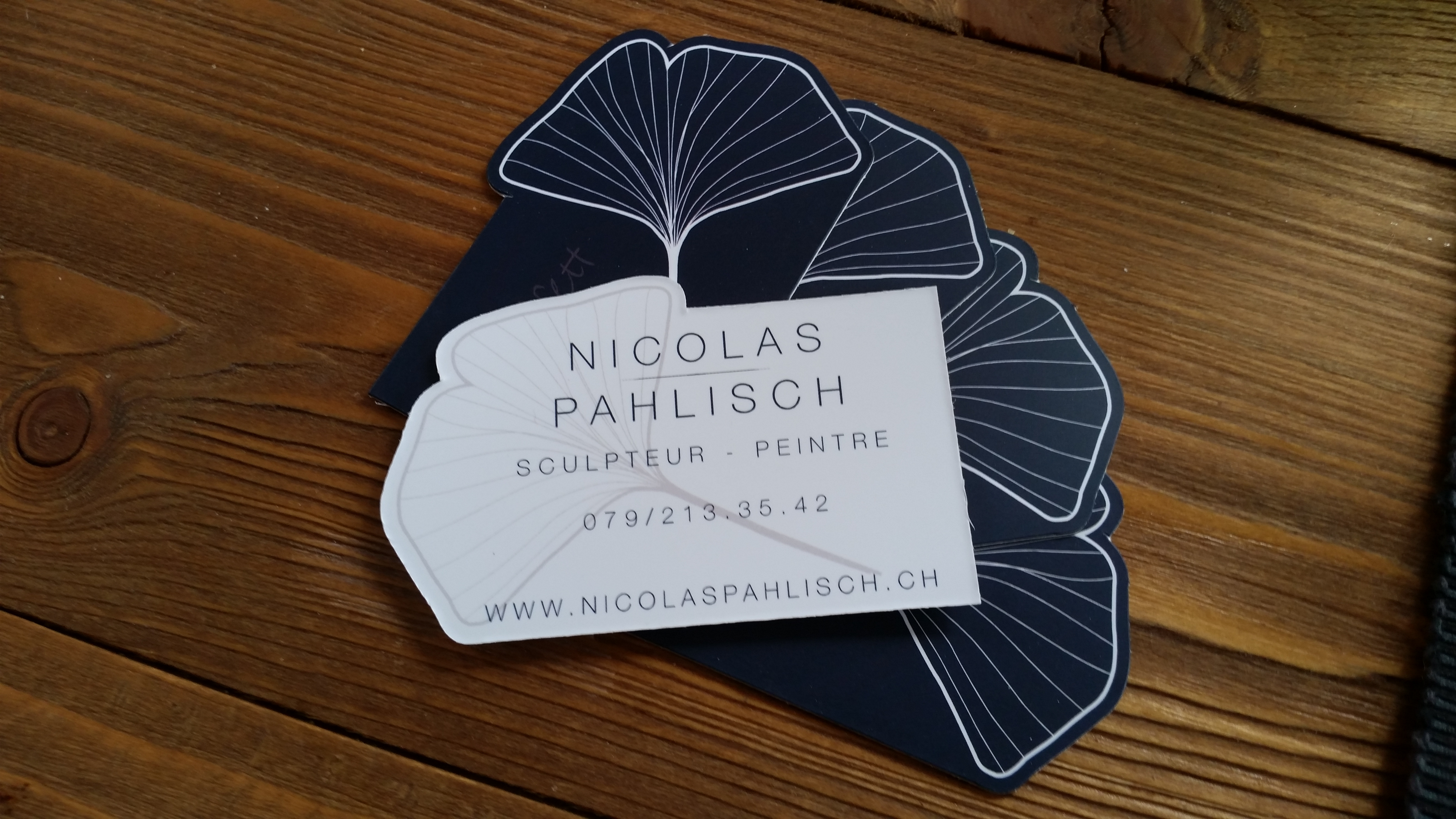 Carte de visite Nicolas Pahlisch