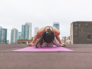 Yoga & Depression: How Yoga Saved My Vegan Bacon and Could Do the Same for You!