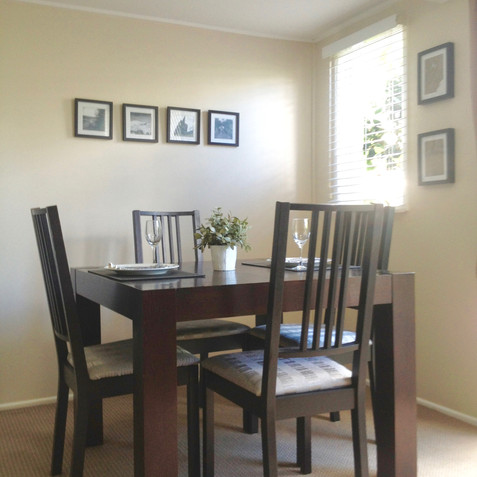 GARDEN SUITE'S PRIVATE DINING ROOM