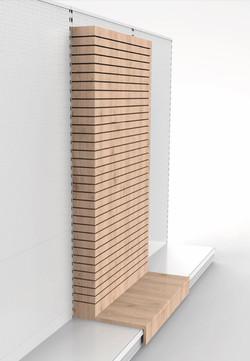 Slotwall Anbau für Tego System