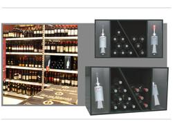 Regal Highlighter für Wein