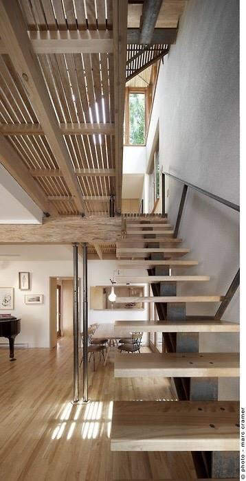 Les escaliers, espace à part entière!
