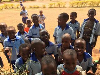 アフリカ ルワンダの子供たち