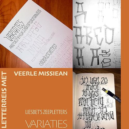 Letterreis Veerle Missiean • Liesbet's zeepletters I Variaties  • €77 • Volzet