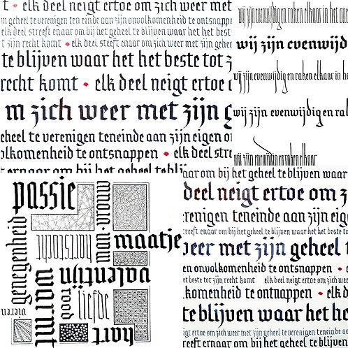 LetterSerie met Griet Cockaerts • Voorjaar 2022 • €135