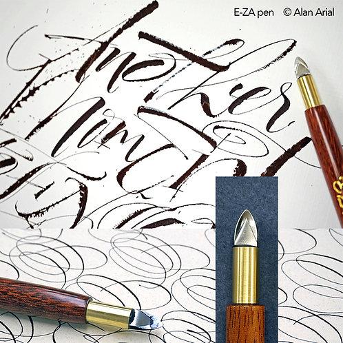E-ZA pen (handgemaakt door Alan Arial)