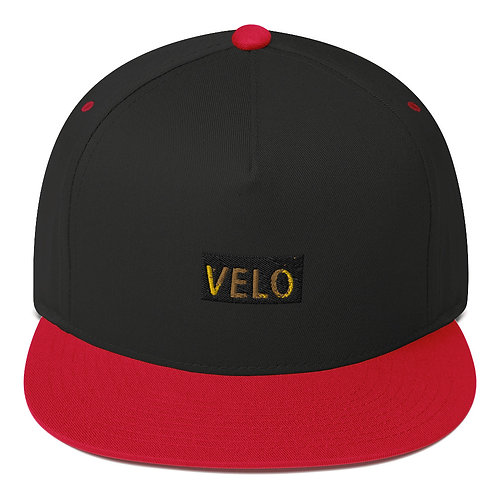 Velo Flat Bill Cap