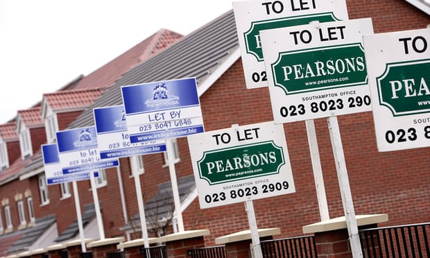 Experts say reduced supply of rentals will mean higher rents unless more social housing is provided. Photograph: Alamy