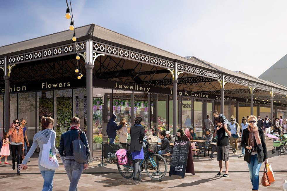 Wool Market: the council will regenerate the market hall and greater area