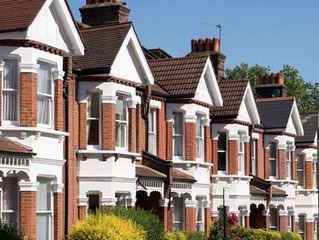 Why is the UK property market still relatively strong?