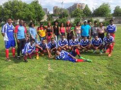 Match soccer-Jeunes vs Ainés