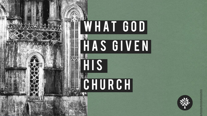 What God has Given His Church