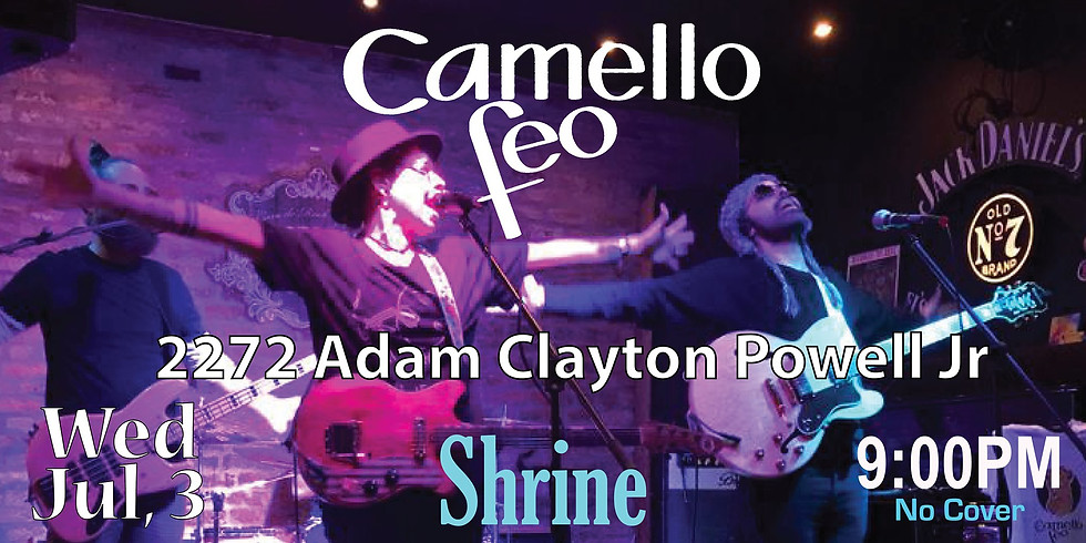 Camello Feo @ Shrine NYC