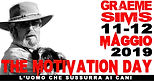 """Stage con GRAEME SIMS """"The motivation day"""""""