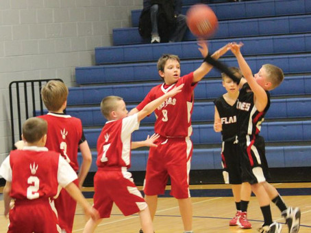 Youth Basketball + The 3-Point Shot