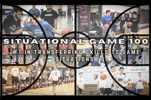 Situational Game 100: #1 In Transferring Skills to Game Situations