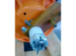 Bottom of motor with counterweight for Sweco® Screener