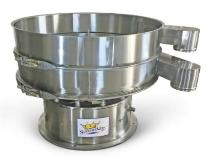 Stainless Steel Sweco® Type Vibro-Energy Round Separator