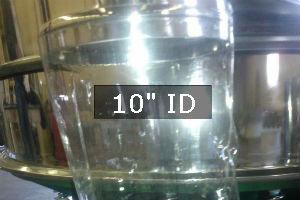Clear Flex Poly Urethane Seamless Tubing-10 in. ID