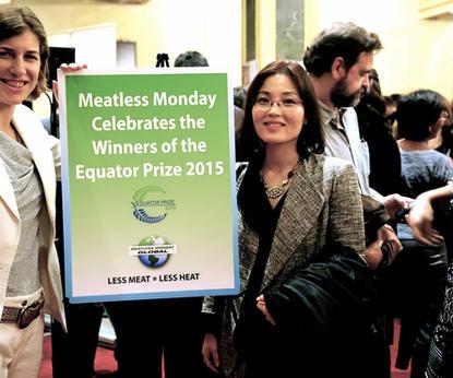 2015 파리유엔기후변화당사국총회(UNFCCC_COP21)  Equator Pariz Award 채식디너 제공 - 고기없는월요일 그#1194BF3.JPG