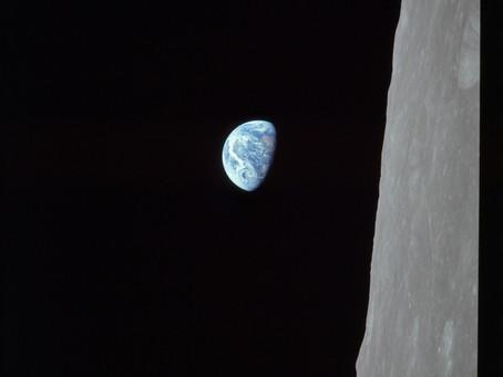 כוחו של צילום - זריחת כדור הארץ