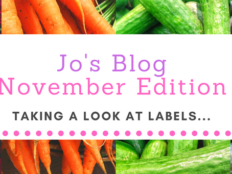 Taking a look at labels…