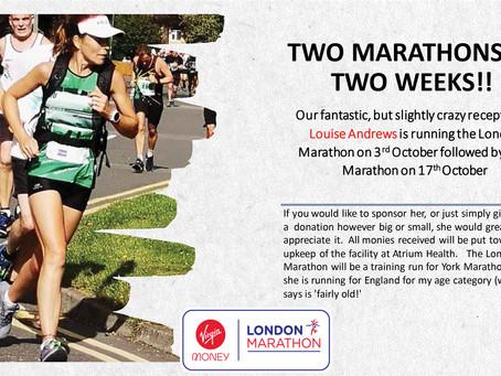 Louise Andrews - Two Marathons In Two Weeks!