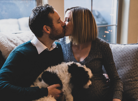 Lauren and Eric Maternity Photos in Denver, Colorado