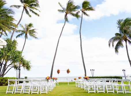 Destination Oahu, Hawaii Wedding Part 1