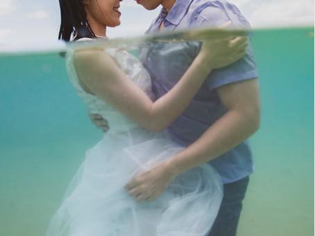 Honeymoon shoot on Oahu!