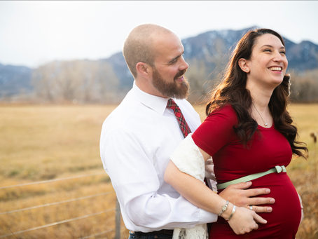 Zach and Cara Maternity Session in Boulder, Colorado