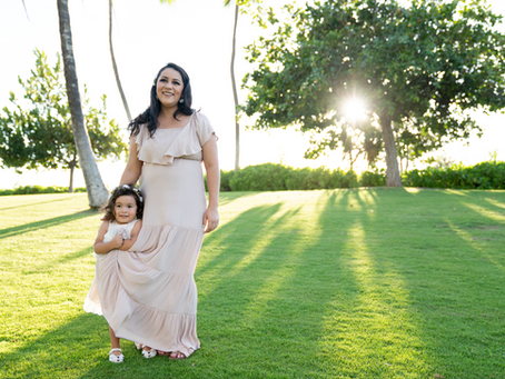 Family Shoot in Kapolei, Oahu, Hawaii