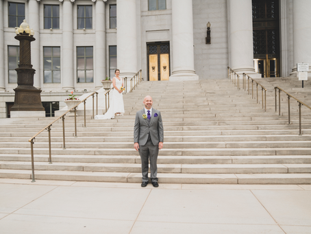 A Denver Courthouse Urban Wedding- Second Time's the Charm!