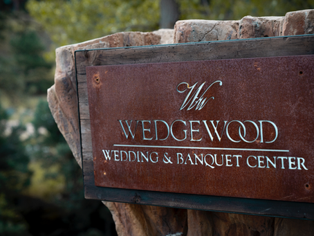 Late summer wedding at Wedgwood in Boulder, Colorado