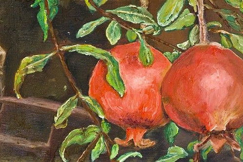 Artwork for Living Room - A Pair of Pomegrenades at Day Time