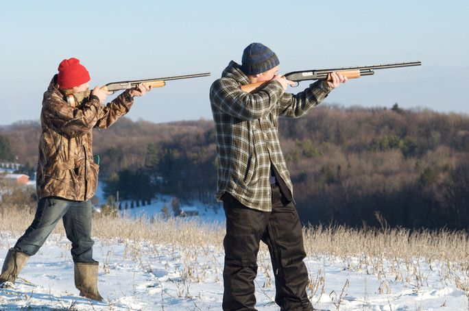 Hunting with the Farm Kings