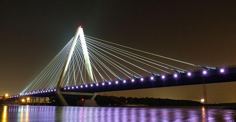 One of Kansas City's bridges