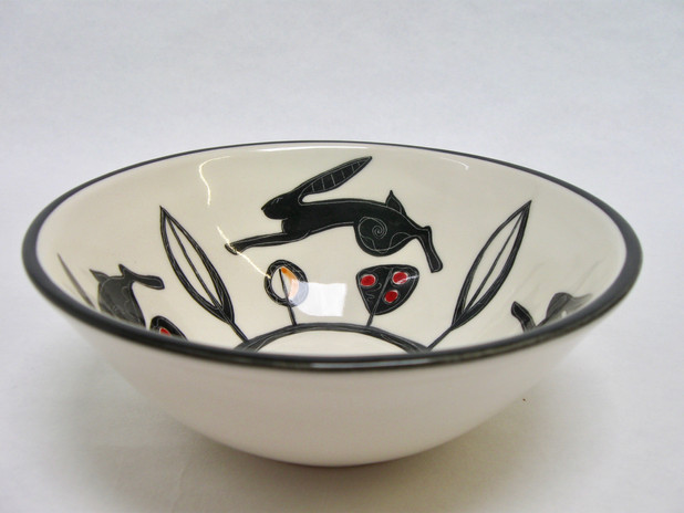 Black Hare small bowl