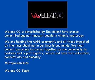 Welead OC StopAsian Hate Statement FB.pn