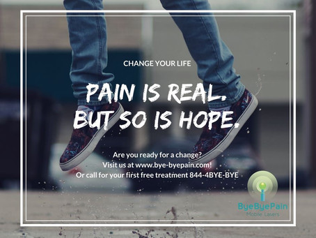 Pain is real, but so is HOPE!